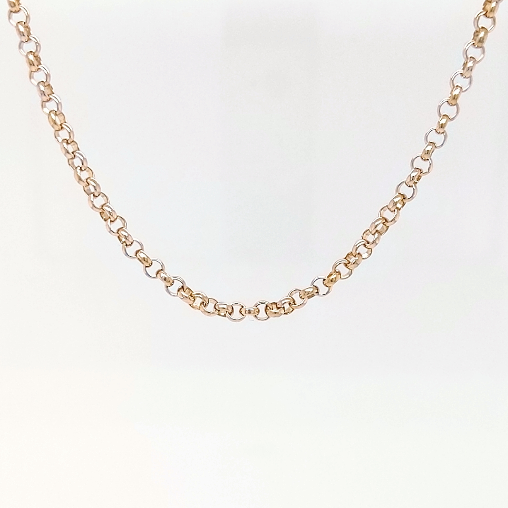 """14K Yellow Gold 30"""" Rolo Chain"""